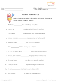 20 FREE Reflexive Pronouns Worksheets