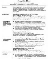 Resume Make Marketing Manager Summary Statement Resume Objective