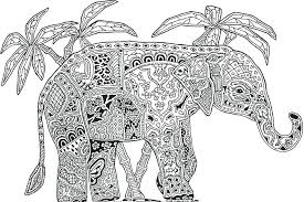 Coloring Pages Of Elephants Beautiful Stock Asian Elephant Coloring