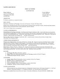 Rehab Nurse Resume Awesome Registered Nurse Resume Sample Free Download