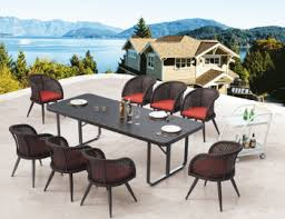 outdoor dining sets for 8. Outdoor Dining Sets - For 8 Evian Set R