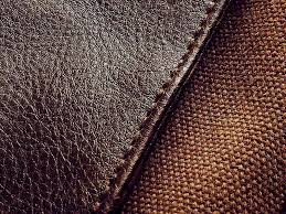 fabric synthetic leather or genuine leather