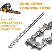 Echo Chainsaw Chain Chart 6x 18 Semi Chisel Chainsaw Chain For Echo Cs 400 330t 3 8