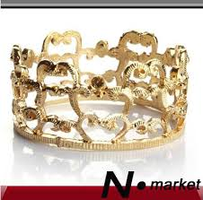 Wholesale Imperial <b>Crown Napkin Rings</b> For <b>Wedding</b> Party Golden ...
