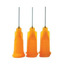 Efd Dispensing Tip 5123 B 50 Pk 23 Awg X 1 2 In Orange