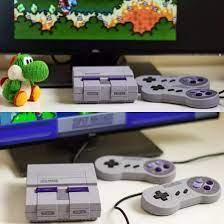 Bản HDMI Cao cấp), MÁY CHƠI GAME Super Nintendo Classic Edition - SNES  16-BIT , tay cầm
