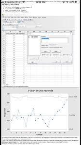 Attribute Chart Solved W 6 Attribute Control Charts For The Data Set Giv