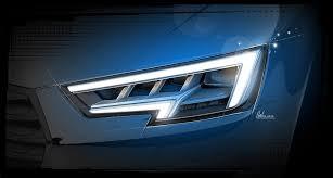 Audi A4 Front Lights 2016 Audi A4 Headlights Car Headlights Audi A4 Audi