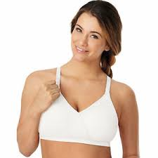 Playtex Bra Size Chart Us Details About Playtex X Temp Wire Free White Nursing Bra Size Large
