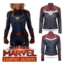 brie larson ms marvel captain marvel red leather costume 800x1026 700x700 jpg