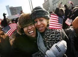 Lakisha Smith, Agnes Davis - Lakisha Smith Photos - New Yorkers Observe The  Inauguration Of Barack Obama - Zimbio
