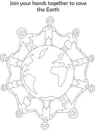 Earth Day Printable Coloring Pages Earth Day Coloring Pages For