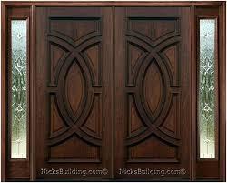 modern front double doors. Exterior Double Door Wood Front Doors Chic Designs Modern .