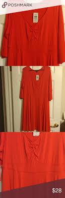 Nwt Knit Dress Comfortable Knit Dress With 3 4 Sleeves