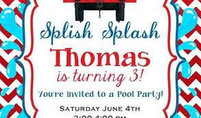 Thomas The Train Party Invitations Plus The Train Party Invitations