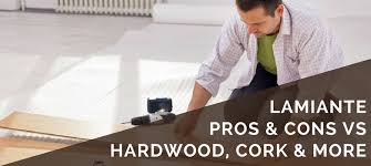 laminate flooring pros cons pared to hardwood cork bamboo vinyl more