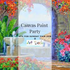 art socio canvas paint works in ahmedabad