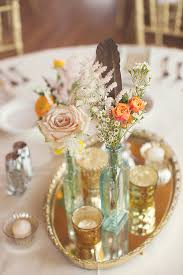 fascinating mirror centerpiece wedding centerpiece als vintage gold edge mirrors a la crate vanity as reception centerpieces for tables ideas michaels