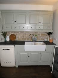 Small Kitchen Colour Decoration Nice Small Kitchen With Grey Cabinet Storage Combine