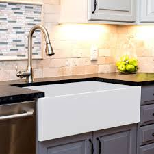Nantucket Sinks Tfcfs36 36 Inch Farmhouse Fireclay Kitchen Sink With