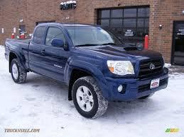 2005 Toyota Tacoma V6 TRD Sport Access Cab 4x4 in Indigo Ink Blue ...