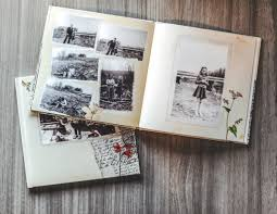 5 photo book gift ideas for a delightful mother s day vine book from old scanned