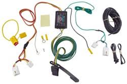 comparing trailer wiring options for a 2008 to 2012 mitsubishi curt t connector vehicle wiring harness 4 pole flat trailer connector