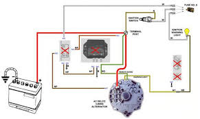 delco remy alternator wiring diagram 4 wire delco cs130 one wire alternator wiring diagram wiring diagram and on delco remy alternator wiring diagram 4