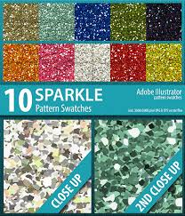 Illustrator Pattern Swatches Magnificent 48 Sparkle Glitter Pattern Swatches Vector By DoucetteDesigns