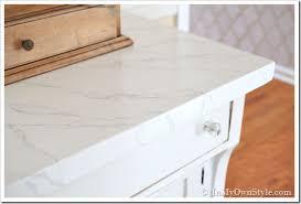 paint faux carrara marble