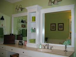 lovely how to frame a bathroom mirror with molding crown molding for mirror framing elegant best