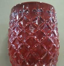 member s mark st00004n 190 19in montmartre ceramic garden stool red