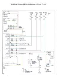 gauge cluster wiring diagram? mustang forums at stangnet instrument cluster wiring diagram Instrument Cluster Wiring Diagram #23