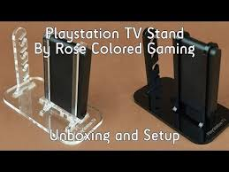 Playstation 3D Display Stand Playstation TV Stand by Rose Colored Gaming Etsy Unboxing and Set 38