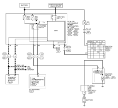 2009 nissan pathfinder starting system wiring diagram