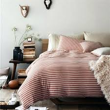 material duvet cover pure era ultra soft egyptian quality jersey knit cotton home bedding duvet cover set stripe jersey