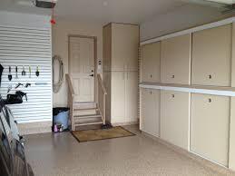 Floor Storage Cabinets Gerry Garage Slotwall Epoxy Floor Custom Cabinets Sliding