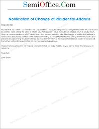 Address Change Request Letter Rome Fontanacountryinn Com
