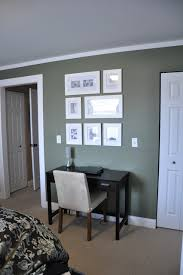 Creating Space for a desk in the bedroom contemporary-home-office
