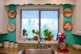Turquoise Kitchen Decor Turquoise And Red Kitchen Decor Winda 7 Furniture