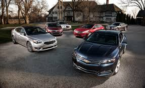 2014 Chevrolet Impala LT vs. 2013 Chrysler 300S, 2013 Dodge ...