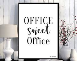 office wall decor.  Wall Office Wall Decor Etsy Simple Decorations For Inside