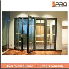 Elegant Cheap Glass Doors Aluminum Front Door With Grill Door Design