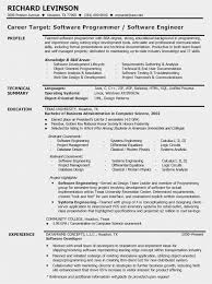 Software Developer Resume Template Fascinating 28 Software Engineer Resume Summary Free Best Resume Templates