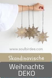 Weihnachtsdeko Im Skandinavischen Stil Anhänger Aus