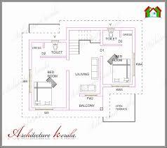 ranch home plans under 1500 sq ft lovely 2 bedroom house plans in kerala floor plans