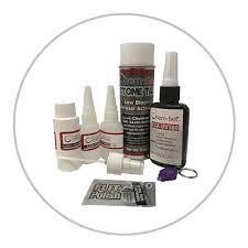 chem set uv chip repair kit