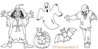 296 Disegni Di Halloween Da Colorare Pianetabambiniit