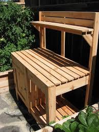 Potting Bench Plans Luxury Ideas Garden Work Bench Simple Decoration 16 Potting Bench