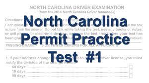 nc dmv permit test cheat sheet north carolina permit practice test 1 youtube